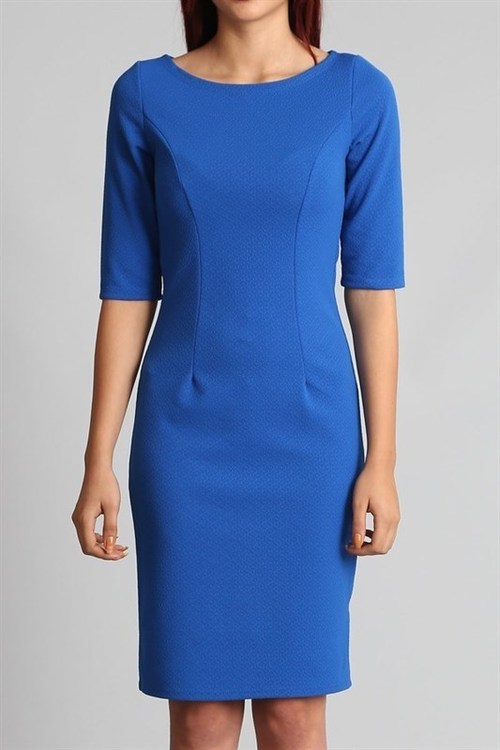 Alicia bodycon dress (Royal Blue)