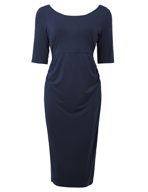Tuesday dress in Navy