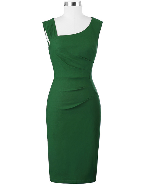 Carmen dress in Green