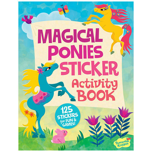 Activity Book Magical Ponies