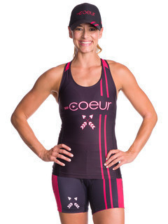 Coeur Sports Tri Tank - Courage