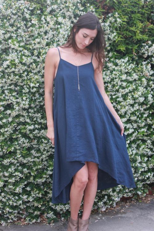 Linen String Dress