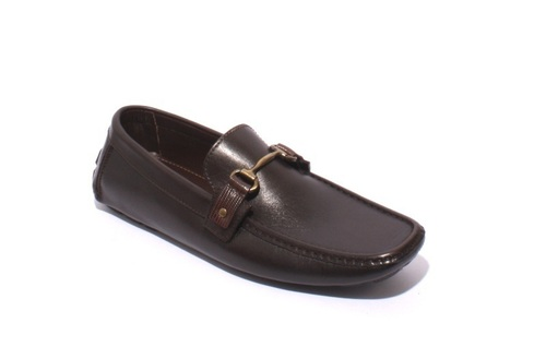 Brown Leather Driver Moccasins Loafers