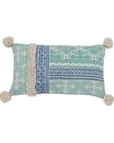 Raine Turquoise Pillow