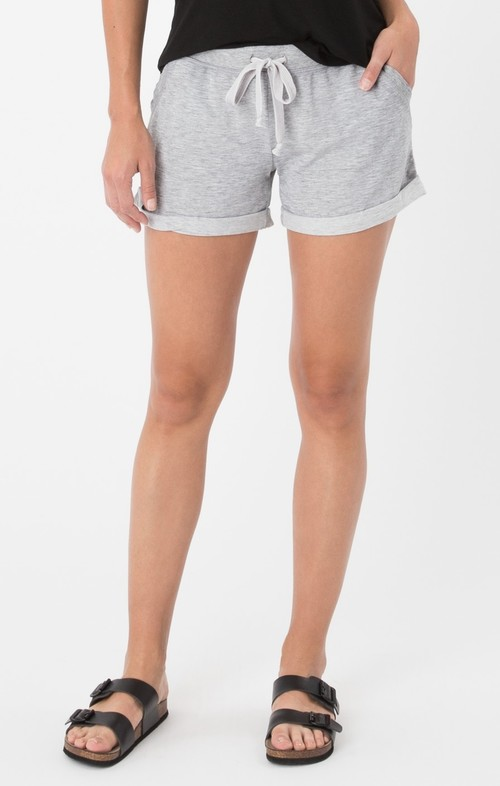 The Boyfriend Short Heather Grey