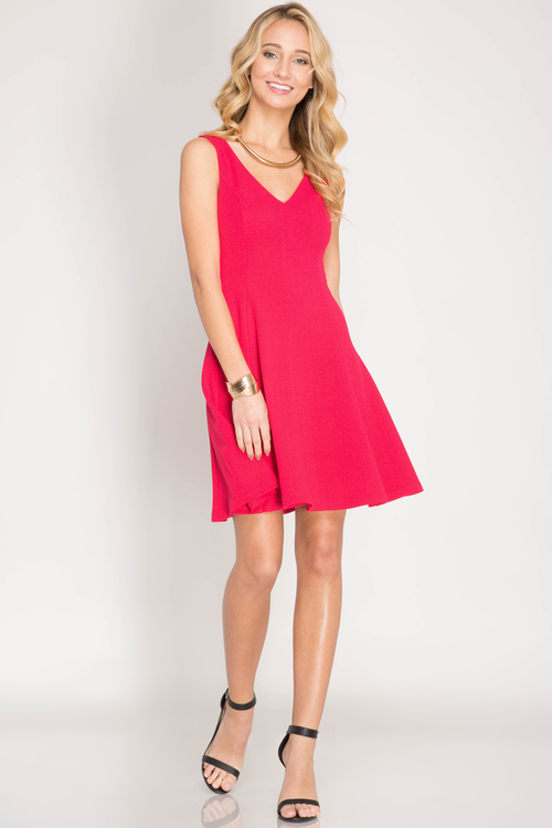 Stephanie cocktail dress (Cherry)