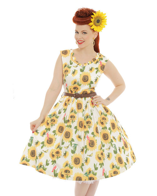 Daria Sunflower dress