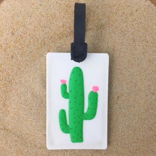 Cactus Luggage Tag