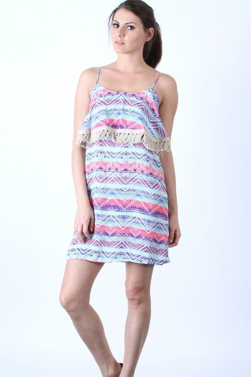 Kimora tiered dress