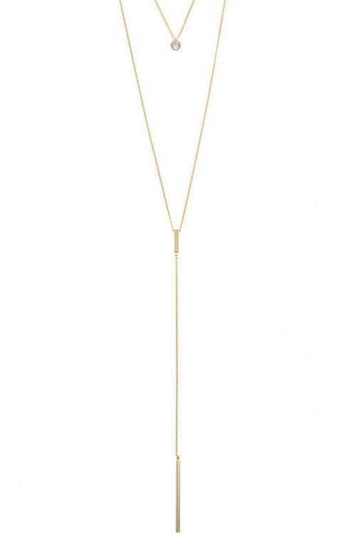 Astoria layered necklace (Gold)