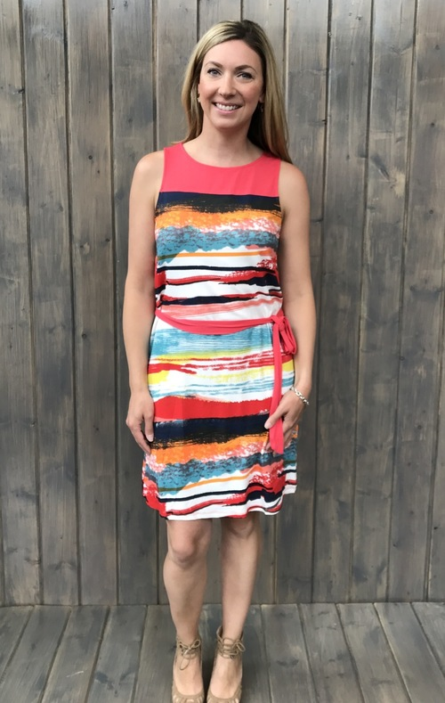 Pittieri Coral Tank Dress