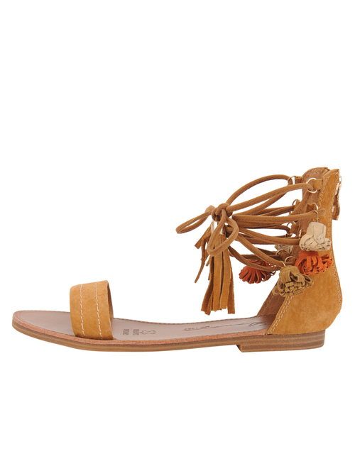 Alivia Camel Sandal