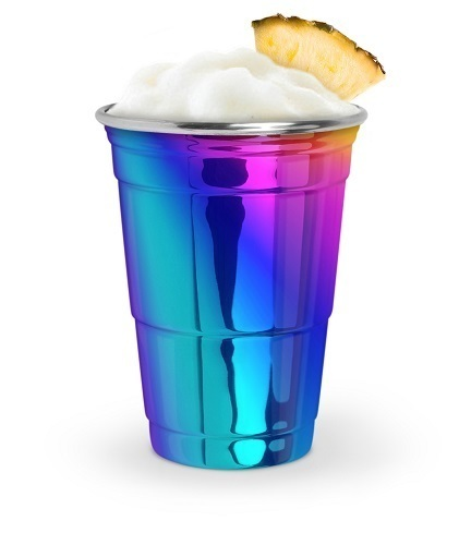 Rainbow Stainless Party Cup