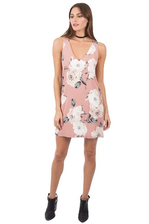 Midtown Flower Print Dress