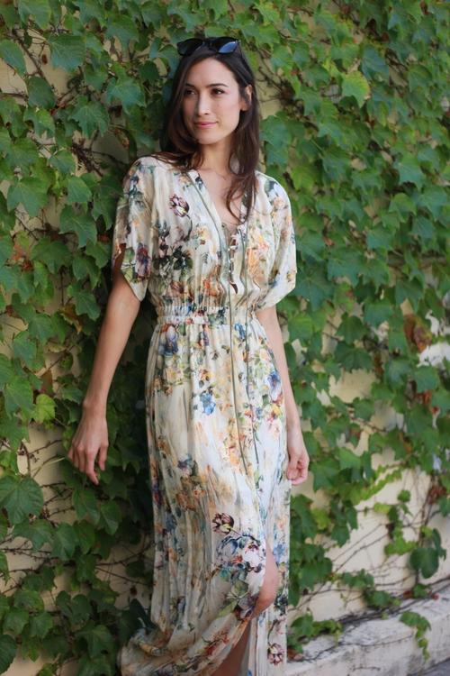 Nikki Floral Maxi