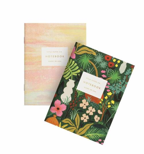 Floral/Watercolor Pocket Notebook Set