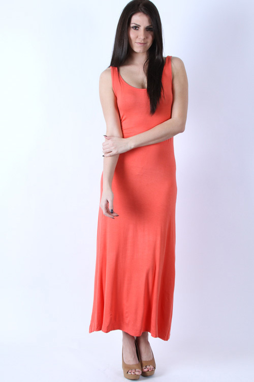 Easy Breezy maxi dress (Coral)
