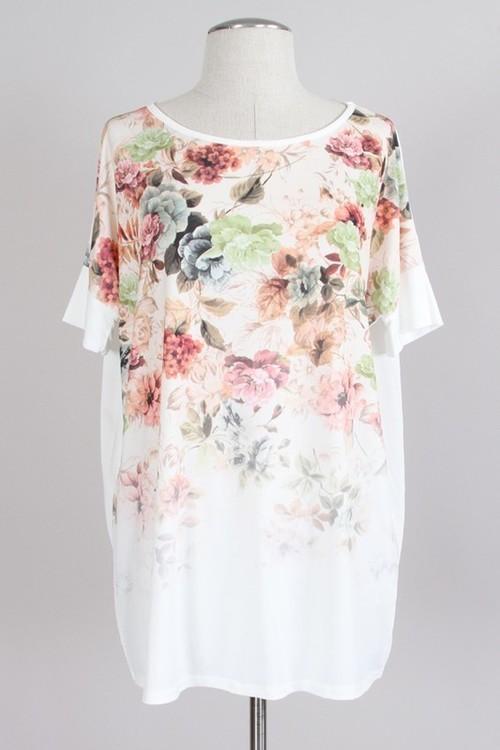 Rosaline floral tunic