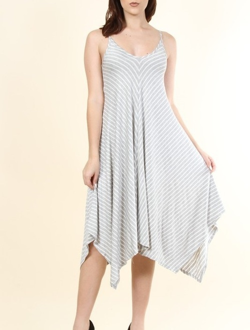 Miranda striped dress