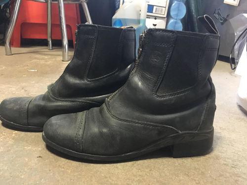 Consignment Child's Zip Paddock Boot