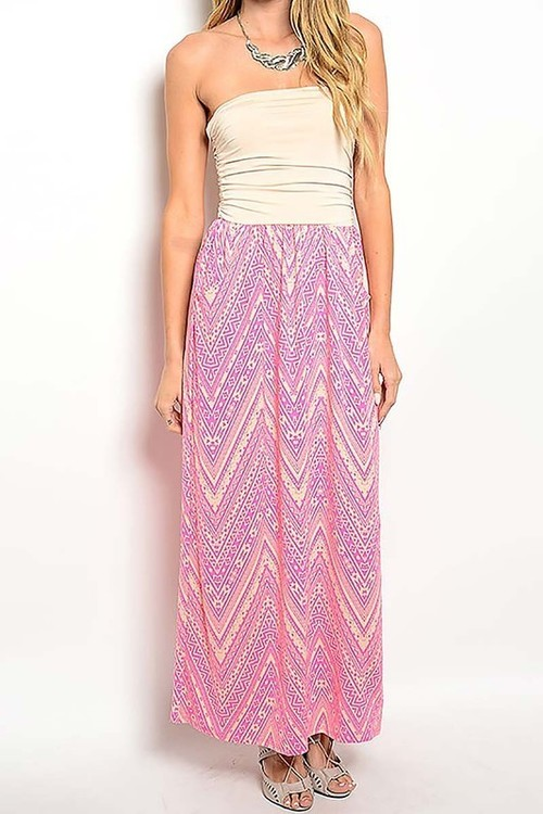 Sammie strapless maxi dress