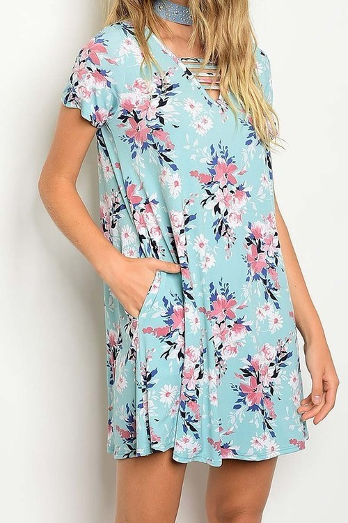 Maui tunic dress w/ pockets