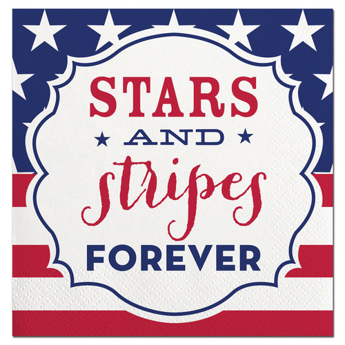 Star & Stripes Forever Napkin 20ct