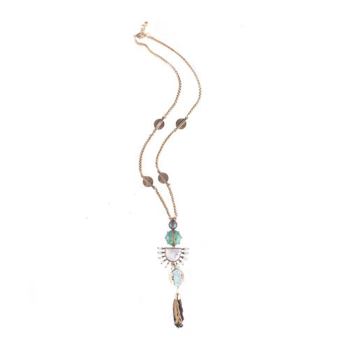 Cleo XL Tassel Long Necklace