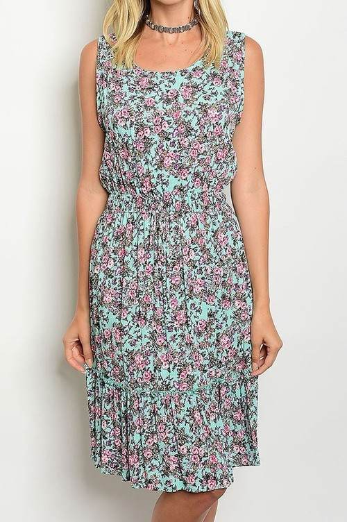 Adeline sundress (Mint)