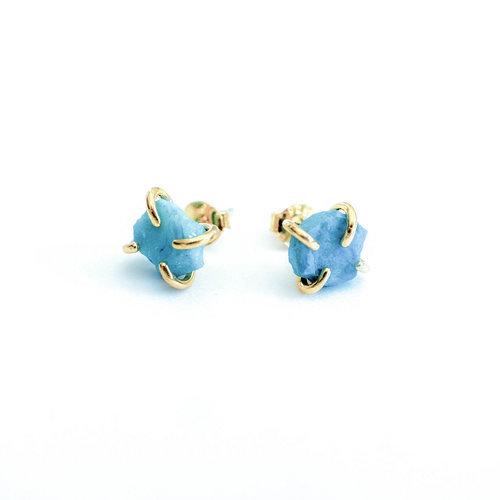 Turquoise Gemstone Prong