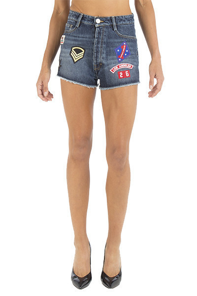 Shorts with Patches