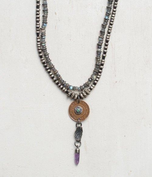 """58"""" Labradorite Necklace"""