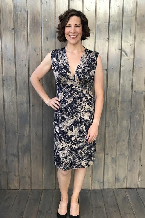 Hudson V Neck Dress