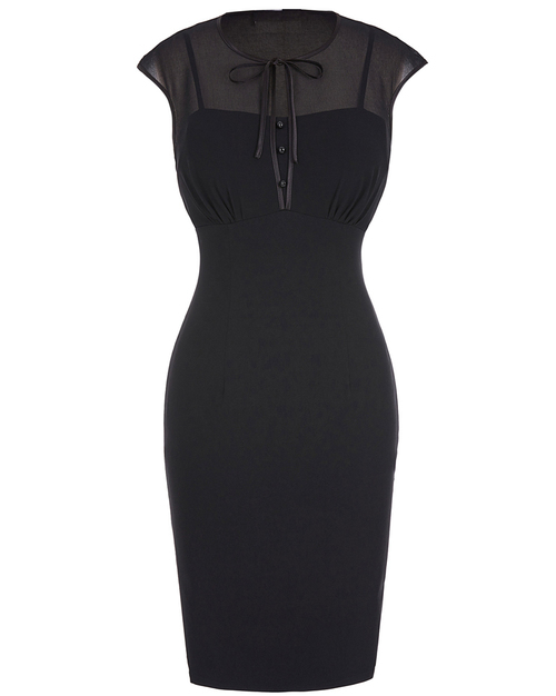 Mae Dress in Black