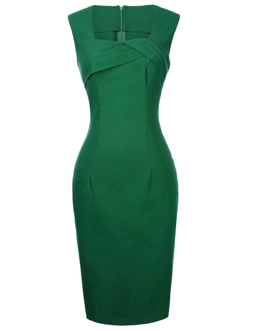 Nora Dress in Green