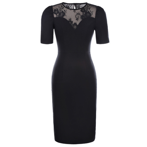 Isabella dress in black