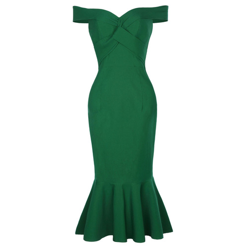 Sophia Dress in Green or Black