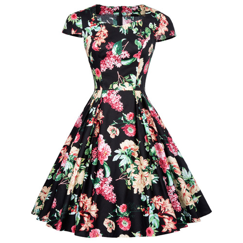 Leni Dress in Paradise Floral