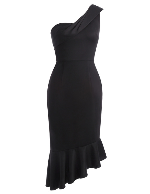 Selina Dress in Black
