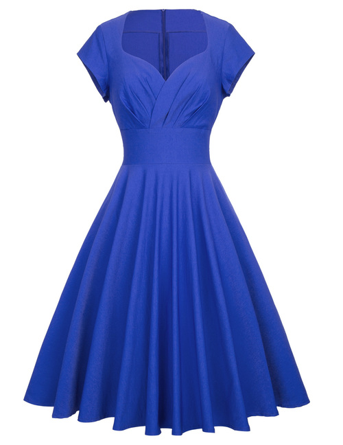 Molly dress in Royal Blue