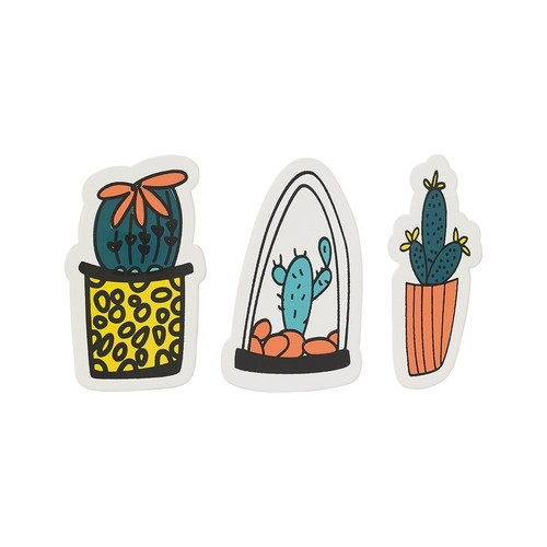 Set of 3 Cacti Magnets