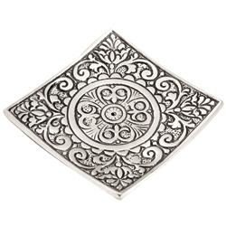 Square Aluminum Incense Holder