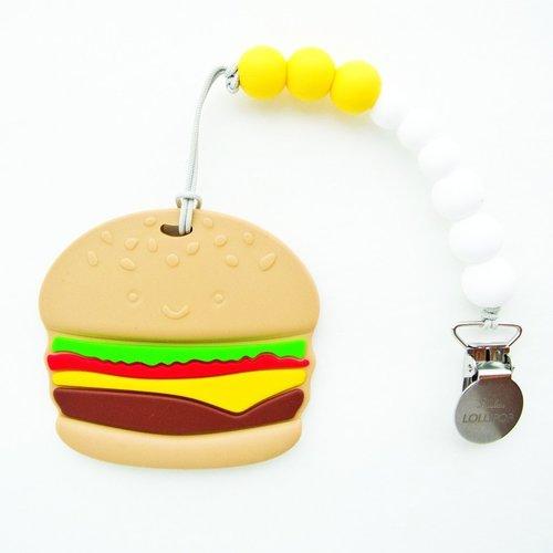 Hamburger Teether