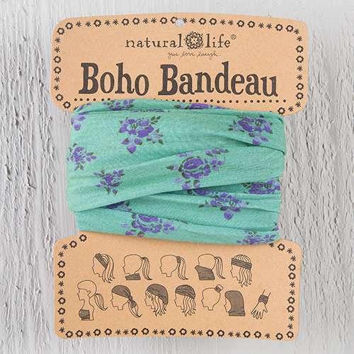 Sage Roses Boho Bandeau