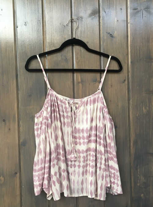 Lilac Cold Shoulder Top