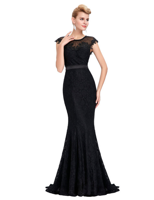 Aurora Gown in Black