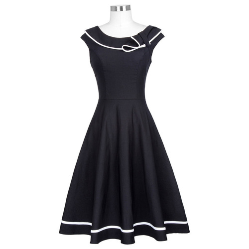 June Dress in Black