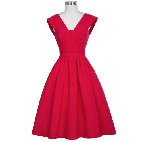Lindy dress in red