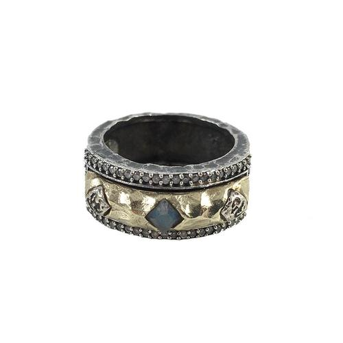 Tat2 Designs Moto Coin Ring
