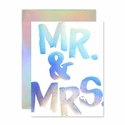 Mr. & Mrs. Holla-Gram Card